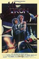 Tron Futuristic Wall Poster