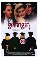 "Getting in - 11"" x 17"" - $15.49"