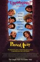 """Passed Away - 11"""" x 17"""""""