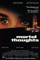 Mortal Thoughts Wall Poster