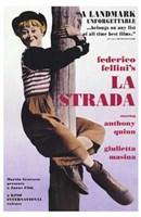 La Strada Wall Poster