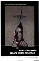 """Escape from Alcatraz - 11"""" x 17"""""""