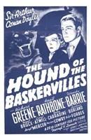 "The Hound of the Baskervilles Sir Arthur Conan Doyle - 11"" x 17"", FulcrumGallery.com brand"