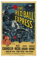 """Red Ball Express - 11"""" x 17"""""""