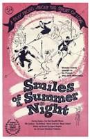 "Smiles of a Summer Night - 11"" x 17"", FulcrumGallery.com brand"