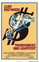 "Thunderbolt and Lightfoot - 11"" x 17"""
