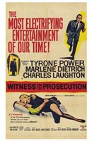 Witness for the Prosecution Wall Poster
