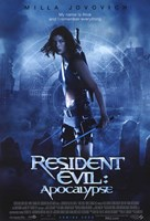 Resident Evil: Apocalypse Milla Jovovich Wall Poster