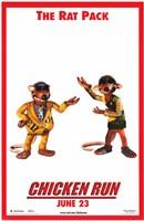 "Chicken Run - The rat pack - 11"" x 17"", FulcrumGallery.com brand"