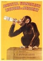 """11"""" x 17"""" Monkeys Apes"""
