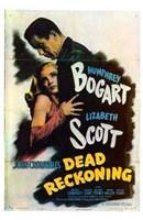 Dead Reckoning Lizabeth Scott & Humphrey Bogart Fine Art Print