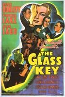 """Glass Key Donlevy Lake Ladd - 11"""" x 17"""""""