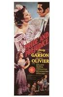 """Pride and Prejudice Garson Olivier - 11"""" x 17"""""""