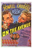 "On the Avenue Madeleine Carroll - 11"" x 17"""