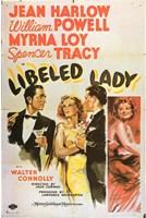 "Libeled Lady Jean Harlow - 11"" x 17"""