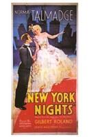 "New York Nights - 11"" x 17"" - $15.49"