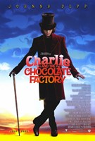 "Charlie and the Chocolate Factory Willy Wonka - 11"" x 17"""