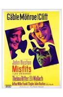 """The Misfits John Huston - 11"""" x 17"""""""