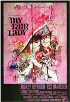"My Fair Lady - umbrella - 11"" x 17"""