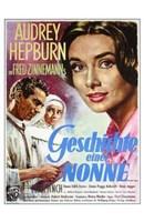 "The Nun's Story - Nun and priest - 11"" x 17"""