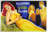 Gilda Glenn Ford & Rita Hayworth Wall Poster