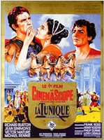 """The Robe Movie Poster French - 11"""" x 17"""""""
