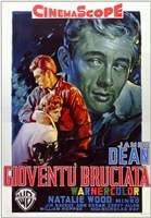 Rebel Without a Cause Film Poster Italian Wall Poster