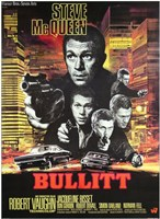 Bullitt Shooting Wall Poster