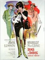 "Irma La Douce - woman posing - 11"" x 17"""