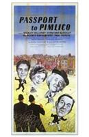 "Passport to Pimlico - 11"" x 17"""
