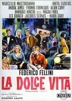 La Dolce Vita Cast Wall Poster