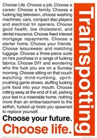 Trainspotting Wall Poster