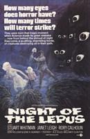 "Night of the Lepus - 11"" x 17"""