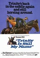 "Trinity is Still My Name movie poster - 11"" x 17"" - $15.49"