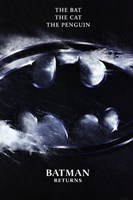 Batman Returns Logo Wall Poster