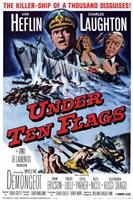 "Under Ten Flags - 11"" x 17"""
