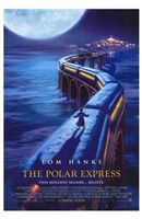 The Polar Express Scaling Train Wall Poster