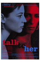 "Talk to Her - 11"" x 17"" - $15.49"