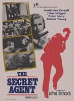 """The Secret Agent - 11"""" x 17"""""""