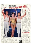 Trapeze Wall Poster