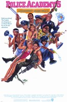 "Police Academy 5 Assignment Miami Beach - 11"" x 17"""