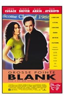 Grosse Pointe Blank Wall Poster