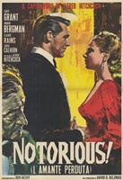 Notorious Vintage Wall Poster