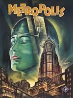 Metropolis Green Fine Art Print