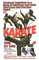 """Karate  Ony By One - 11"""" x 17"""" - $15.49"""