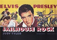 Jailhouse Rock with Elvis & Judy Tyler Wall Poster