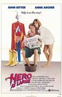 "Hero At Large - 11"" x 17"""