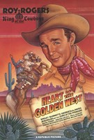 "Heart of the Golden West - 11"" x 17"""