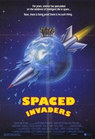 """Spaced Invaders - 11"""" x 17"""", FulcrumGallery.com brand"""