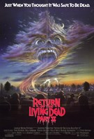 Return of the Living Dead 2 Wall Poster